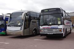 IMGP3204 (Steve Guess) Tags: national motor museum gaydon warwickshire england gb uk bus rally reading buses caetano levant express plaxton paramount