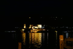 #ortadesangiulio #night #lakeorta