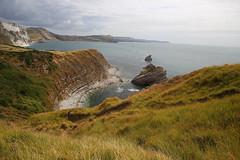 Mupe Bay near Lulworth Cove (JonCombe) Tags: isleofpurbeck dorset coast southwestcoastpath swcp englandcoastpath purbeck