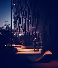 At Night (lindsipindsi_) Tags: 52frames nightphotography oslo barcode