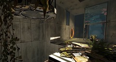 Looking Back (theLony) Tags: portal2 architecture futuristic industrial portal valve valvesoftware screenshot