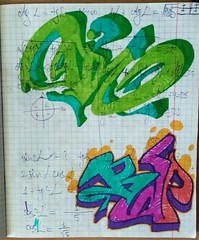 """""""back to"""" ... unknown year (ginnumberone1) Tags: gin sketch graffiti art artwork painting drawing instaart style markers paper oldschool old unknown rap"""