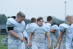 _G1A6719 (bubbaonthenet) Tags: 08232018 practice 6 stma community education 6th grade youth tackle football team 1 white saint michael minnesota 2018 middle school sport sports
