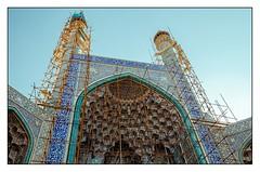 Restauration (Tom Levold (www.levold.de/photosphere)) Tags: d7000 esfahan isfahan nikon architektur architecture mosque imammoschee moschee imammosque