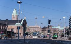 Helsinki (horstebertde) Tags: sfvr hslhelsinginseudunliikenne bahnhof empfangsgebäude hklhelsinginkaupunginliikennelaitos strasenbahn finland fi