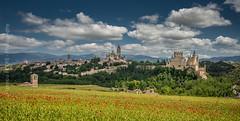 Spring in Segovia (Ignacio Ferre) Tags: segovia comunidaddecastillayleón españa spain paisaje landscape panorama spring primavera nikon city ciudad