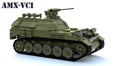 AMX-VCI (Matthew McCall) Tags: lego tank amxvci amx13 france french war military apc armored personnel carrier