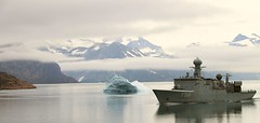 PCS Danish Navy (sobergeorge) Tags: vov2018 voyageofthevikings sobergeorge bysobergeorge greenland danishnavy deepnorth canond80 geotag gps msrotterdam navyship summercruise