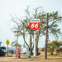 Phillips 66 (Thomas Hawk) Tags: adrian america phillips66 route66 texas usa unitedstates unitedstatesofamerica gasstation fav10 fav25 fav50