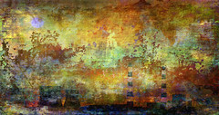 """""""we tried to wash off as much of it as we could..."""" (prole pinion) Tags: abstract abstraction surreal expressionist abstractexpressionism future nuclearpower environment globalwarming layers layering photoshop color light"""