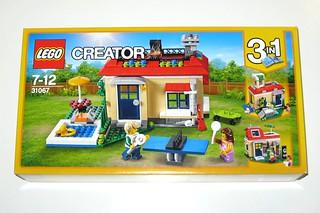 lego 31067 creator 3 in 1 modular poolside holiday 2017 misb a