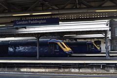Great Western Railway HST 43028 - 43161 - 43197 (Will Swain) Tags: london paddington station 10th may 2018 greater capital city gwr first group train trains rail railway railways transport travel uk britain vehicle vehicles england english class 43 williamsdigitalcamerapics101 great western hst 43028 43161 43197 161 197 28