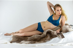 Frida (ABulimia159) Tags: barefoot bare feet bikini topless foot up barefeet barefooted scoresby sund shoeless one piece swimsuit