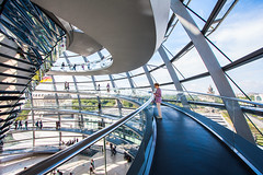 Reichstag V (Chas Pope 朴才思) Tags: 1022mm 2018 berlin germany reichstag architecture fosterandpartners reichstagdome normanfoster glass