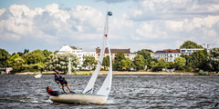 Hamburg / Alster (unicorn 81) Tags: explorephoto explore hamburg alster segeln segelboot sailing