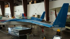 Rutan 61 Long-EZ in Valle (J.Comstedt) Tags: aircraft flight aviation air aeroplane museum airplane us usa airport planes fame valle grand canyon az rutan 61 longez n85h