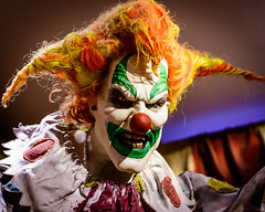 Scary Clown explored 9/20/18 (timeless_toys) Tags: explored universal halloween scary clown
