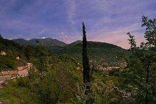 In the Maritime Alps near Nice
