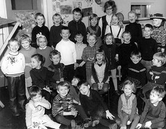 Class photo (theirhistory) Tags: boy children kid girl school class form pupils jumper trousers shoes