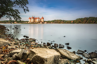 Another view of castle Moritzburg