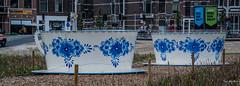 2018 - Delft - Delft Blue (Ted's photos - For Me & You) Tags: 2018 cropped delft nikon nikond750 nikonfx tedmcgrath tedsphotos delftblue two duo pair wideangle widescreen