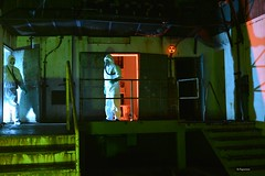 Radiation Alert (Bo Ragnarsson) Tags: biohazard radiation alert gasmask gp5 chemsuit tyvek dupont fallout stalker quarantine cosplay chernobyl apocalypsedeacadence