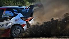 WRC RALLYTURKEY (-daniska-) Tags: rally wrc marmaris turkey rallyturkey ott tanak mikkelson dağ etap yarış race officialwrc car michelin yaris toyota i20 hyundai wrc2 toz duman latvala