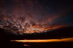 Fire (kuestenkind) Tags: sunset ostsee heimat sonnenuntergang dänischnienhof meer balticsea