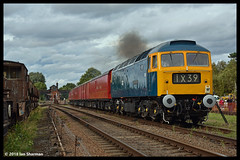 No D1705 Sparrowhawk 9th Sept 2018 Great Central Railway Diesel Gala (Ian Sharman 1963) Tags: no d1705 sparrowhawk 9th sept 2018 great central railway diesel gala class station engine rail railways train trains loco locomotive passenger gcr heritage line leicester north rothley brook swithland quorn woodhouse loughborough 47 duff 47117 tpo