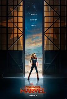 Captain Marvel Teaser Poster + Trailer Released!
