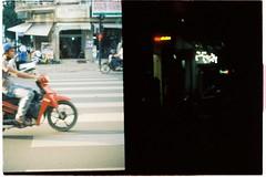 000005 (jovenjames) Tags: 2017 vietnam yashica electro 35 gx kodak vision3 500t diptych olympus pen ees2 light leaks analog film snapshots buonmathuot
