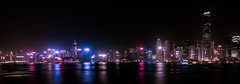 Pearl Of The Orient (Gerald Ow) Tags: hongkong cbd tst tsimshatsui geraldow sony ilce7rm2 fe 1635mm f4 za oss a7rii a7rmk2 a7r2 zeiss nightphotography panorama long exposure skyline 香港 維多利亞港