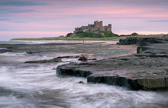Bamburgh sunset (chrismarr82) Tags: nikon d750 sunset sea castle bamburgh