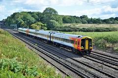 159106 (stavioni) Tags: class159 class158 dmu diesel multiple unit south western railway rail train west trains