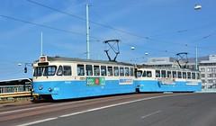 Göteborg, Götaälvbron 07.06.2018 (The STB) Tags: spårvagn göteborgsspårvägar tram tramway strassenbahn strasenbahn publictransport citytransport öpnv kollektivtrafik
