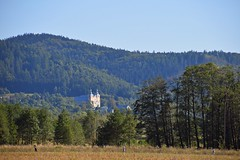 landscapes of Lower Silesia (JoannaRB2009) Tags: summer mood landscape view hills hill forest mountains sudety trees church building architecture lowersilesia dolnyśląsk polska poland