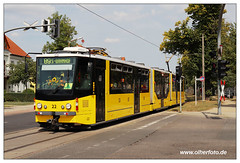 Tram Strausberg - 2018-08 (olherfoto) Tags: tram tramcar strasenbahn strausberg ste tatra kt8d5 canoneosm50