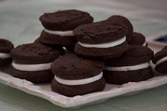 Woopie Pie (simone.ytq) Tags: food cooking woopiepie sweet cake cucina foodporn cioccolato dolce cibo torta