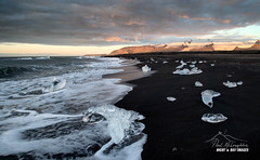 Ice Diamond Sunrise (macdad1948) Tags: fjfallsarlon jokulsarlon glaciallake icelagoon iceland iceburgs glacier jok glacialbeach mountain icebeach