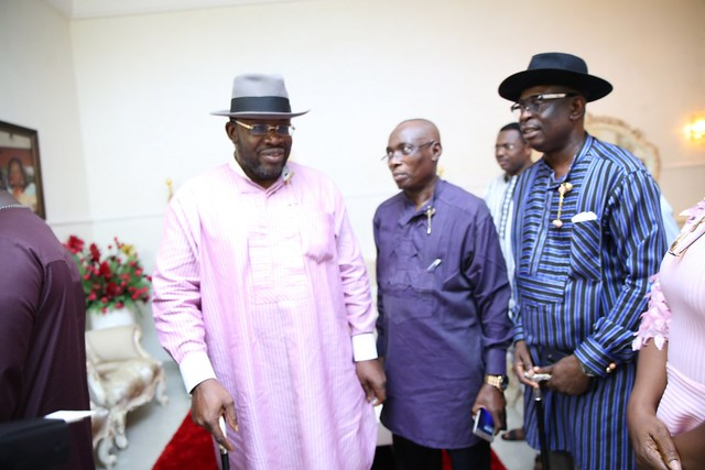 HSDickson- Condolence visit to HIS Excellency by Ekeremor Caucus. 23rd August 2018