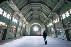 Ghost Hospital (Quentin K) Tags: ghost berlin germany beelitz heilstätten abandoned haunt architecture hospital silhouette