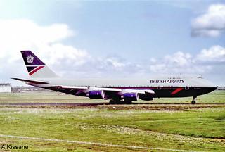 BRITISH A/W B747 G-BDXL