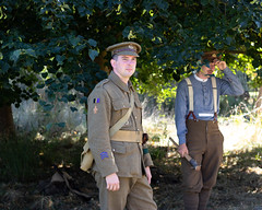 Kieran (Mike South Photography) Tags: 10th essex great war living history group 10thessex regiment firstworldwar first world military army khaki british soldier tommy fighting centenary uniform scouts trench raiding trenchraiding historical reenactment livinghistory
