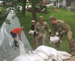 Wisconsin National Guard (The National Guard) Tags: wisconsin wi wing sandbags sand bags flooding flood response support ng nationalguard national guard guardsman guardsmen soldier soldiers airmen airman us army air force united states america usa military troops 2018