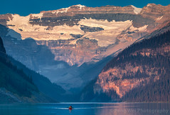 Morning Canoe @ Lake Louise, Banff National Park, Alberta, Canada (Feng Wei Photography) Tags: uppervictoriaglacier traveldestinations landscape beautyinnature northamerica sunrise landmark tourism vacation colorimage lake relax banffnationalpark canada lakelouise unesco mountain majestic scenery beautiful travel glacier alberta tourist scenics boat peaceful horizontal serene canoe ca