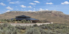 Fossil Butte National Monument (Jasperdo) Tags: fossilbuttenationalmonument fossilbutte nationalmonument nationalparkservice nps wyoming visitorcenter building architecture