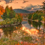 Lake Placid  - New York ~  Autumn Colours in the Adirondack Mountains thumbnail