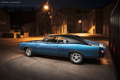 1968 Dodge Charger - Shot 13 (Dejan Marinkovic Photography) Tags: 1968 dodge charger mopar muscle car blue american classic night lightpainting rottweil automotive