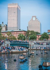 2018-8-25 Waterplace Park before the fires are lit (Photograph by Jen Bonin)