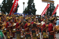 Kintamani Festival 2017 (scinta1) Tags: bali kintamani peneloken festival performers cultural musicians traditionaldress traditional ethnic display competition judges colourful spectacle crowd men decoration